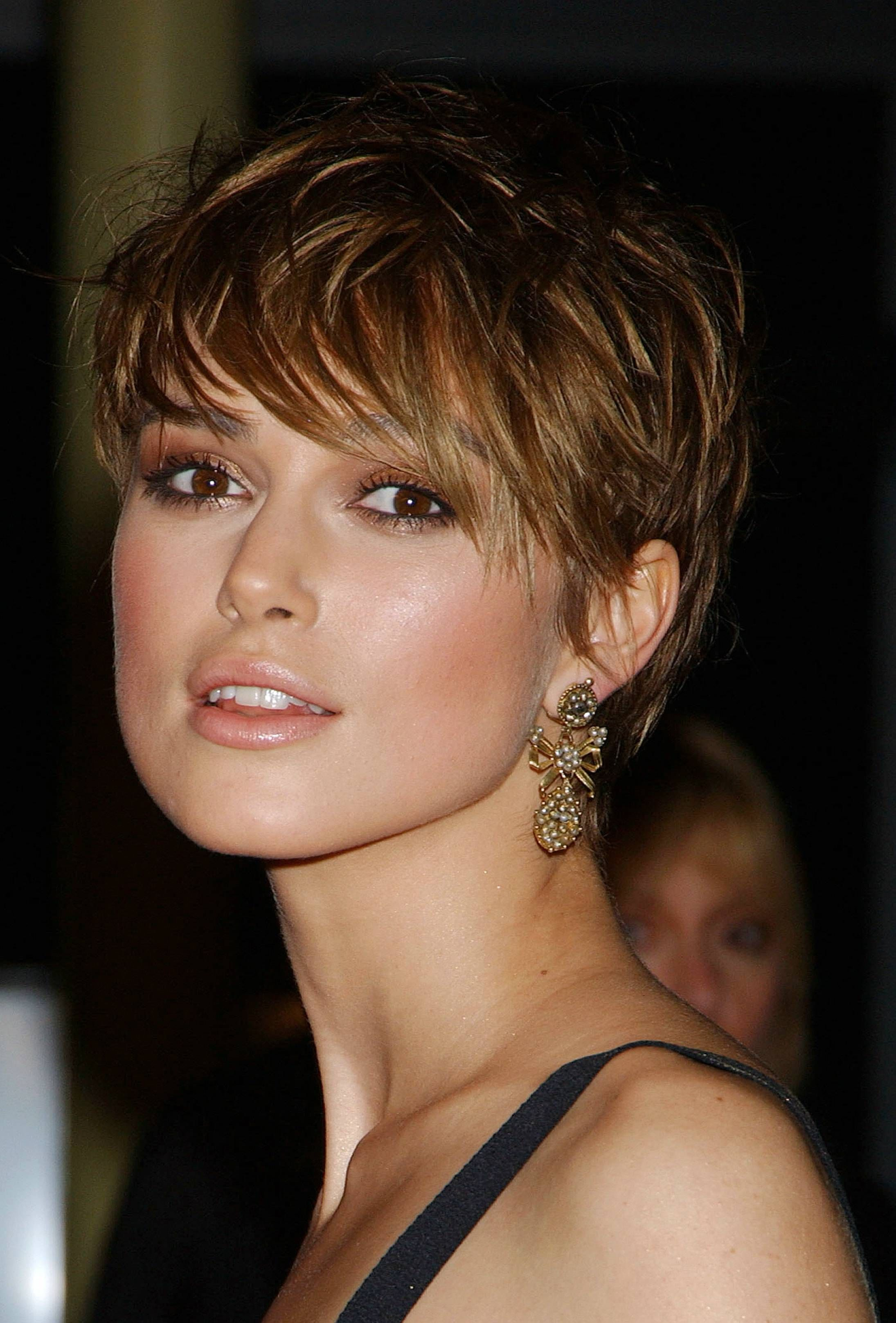 Keira Knightley Pixie Dust Pinterest Haar Ideen Frisuren And