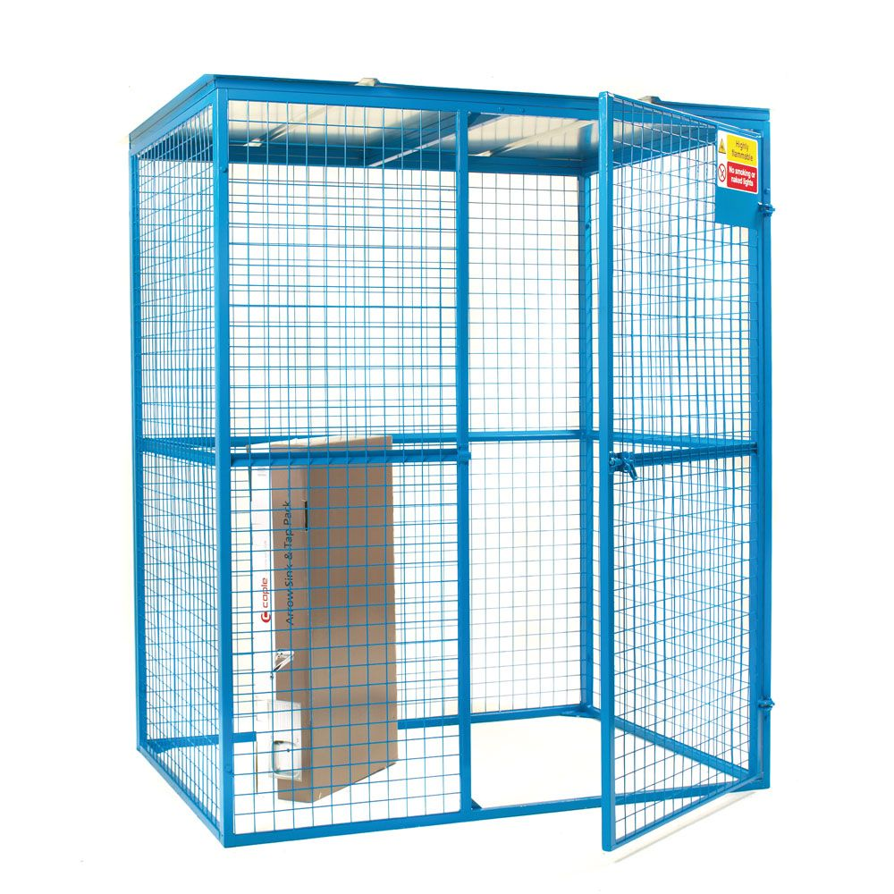 Model Glc12z Manufactured From 50 X 50mm Mesh Panels Galvanised