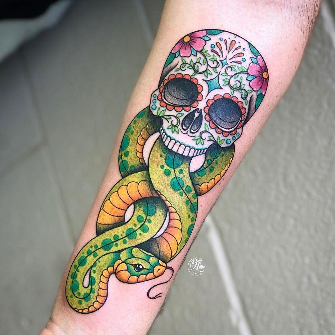 101 Amazing Dark Mark Tattoo Designs You Need To See!