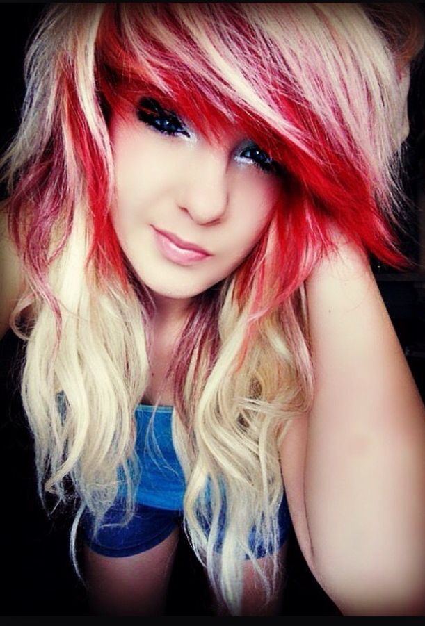 Awesome dyed hair