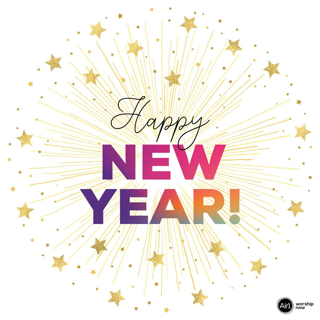 Happy New Year from your Air1 family! 🥳 We pray that 2020