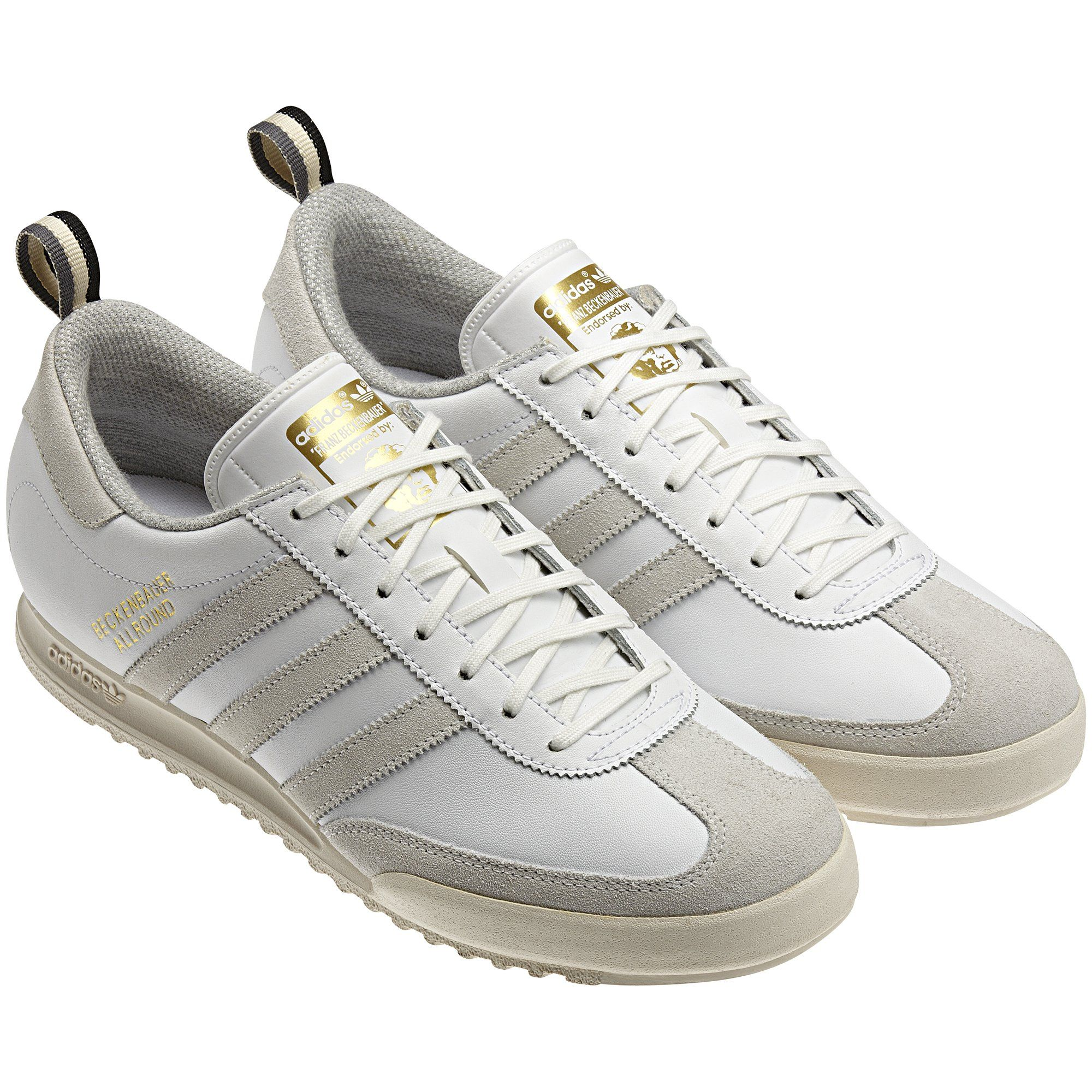 Men's Beckenbauer Shoes, White / Tech Grey / White Vapour