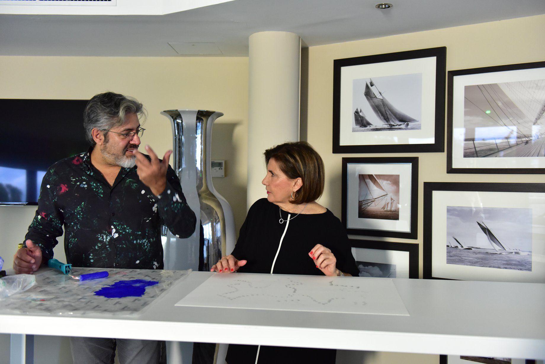 Michèle Mouton auf die 2. WSLA Handprints Show, Der Oscar
