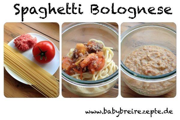 Babybrei Spaghetti Bolognese Rezept zum Selbermachen ...