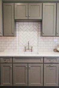 80 Beautiful Kitchen Backsplash Decor Ideas   Insidecorate.com. HausWeiße U Bahn  Fliese BacksplashKüchen ...