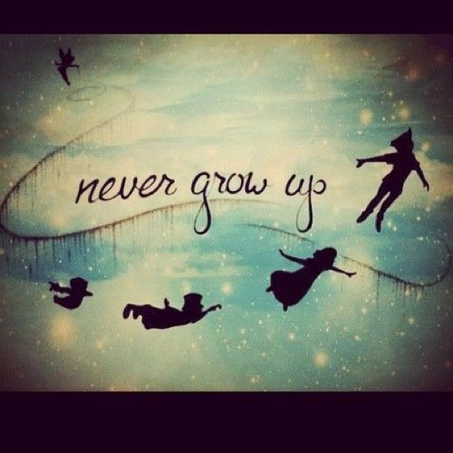 #NeverGrowUp !!