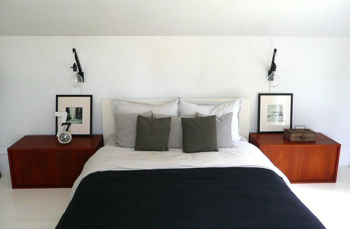 Best Pair Of Handmade Black Minimalist Wall Lights Sconce Danish Modern Mid Century Bedroom 640 x 480