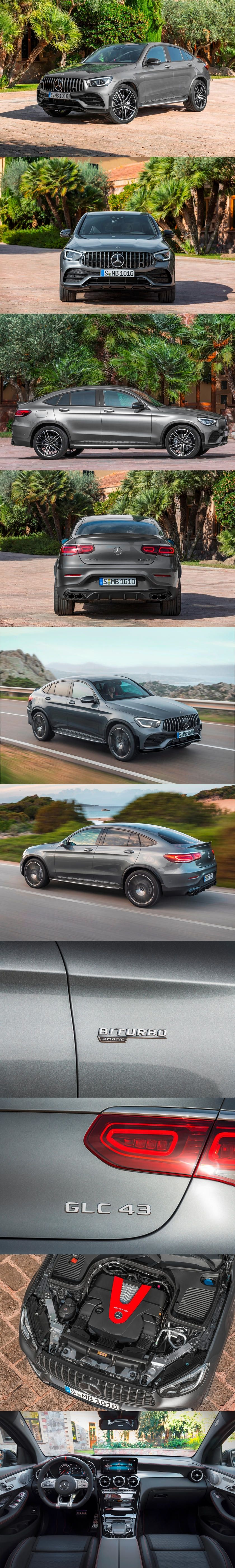 Introducing The 2020 Mercedes Amg Glc 43 Suv And Coupe With
