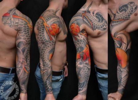 I Am A London Based Tattooist Working From Safehands Tattoo Studio In Watford Specializing In Custom Ja Japanese Sleeve Tattoos Sleeve Tattoos Japanese Sleeve