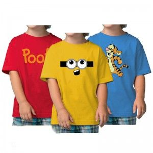<p>Pack of 3 Minions Kids Combo</p>