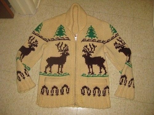 Deer cardigan