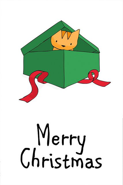 Christmas Illustration Pinterest.Doodlecats By Beth Wilson Rocket Is An Orange Tabby Cat
