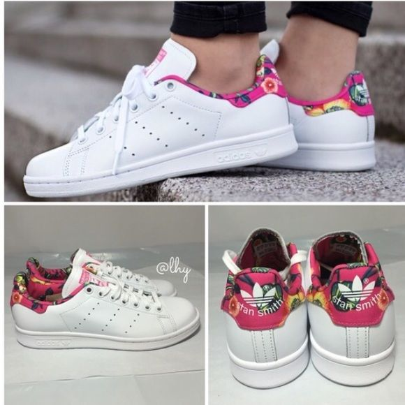 Adidas Stan Smith Pink Floral