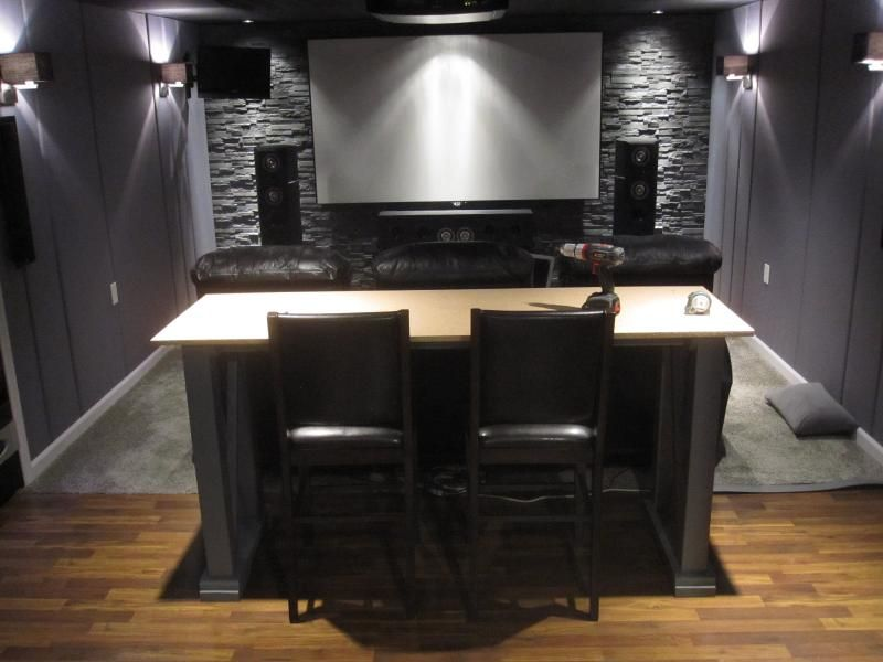 Bar Table Behind Theater Seats Page 3 Avs Forum Home