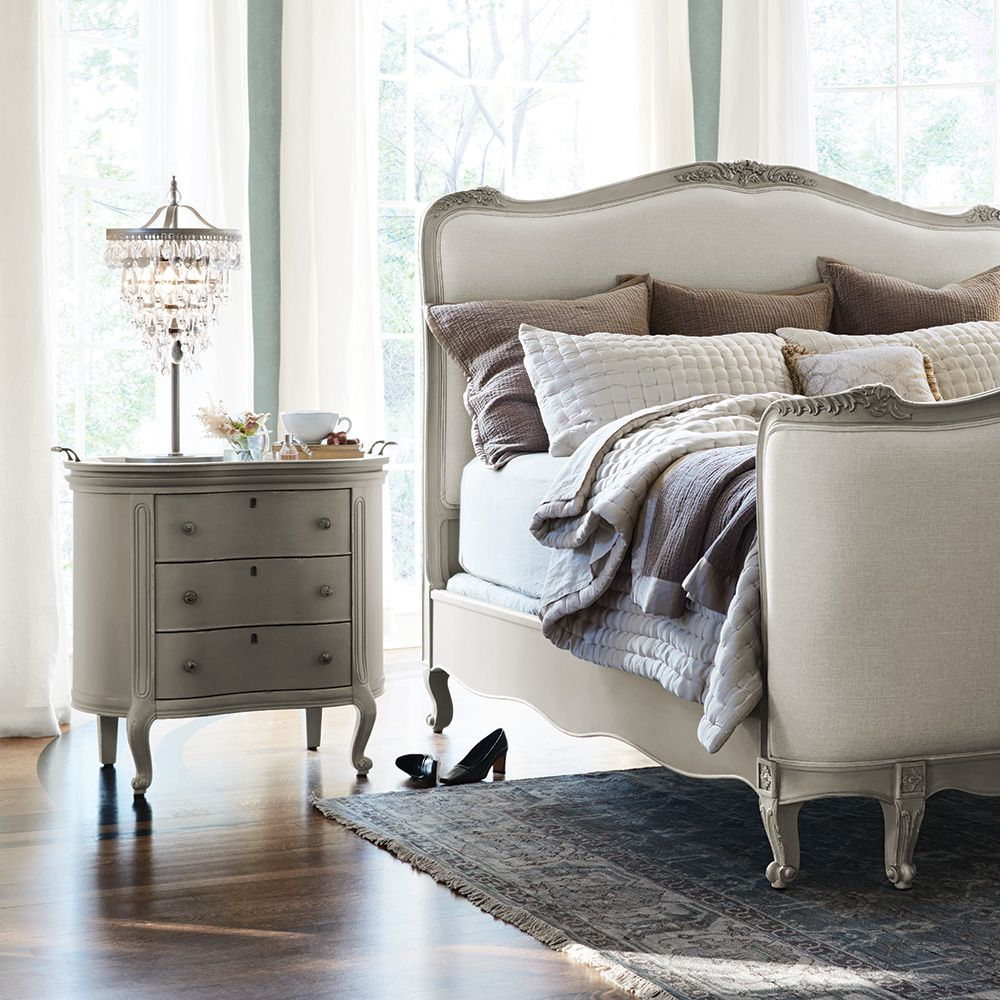 Our genevieve bedroom collection perfectly embodies this aesthetic
