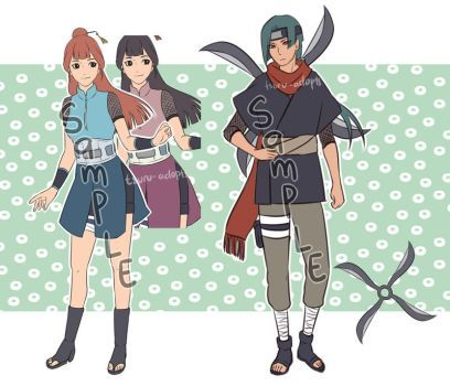 CLOSED] Naruto Adopt 3 - 4 Set Price by Tsuru-Adopts