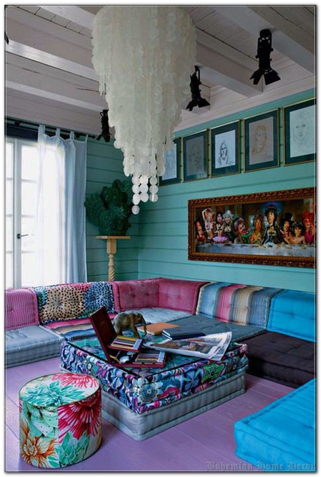 Learn Exactly How We Made Bohemian Home Decor Last Month