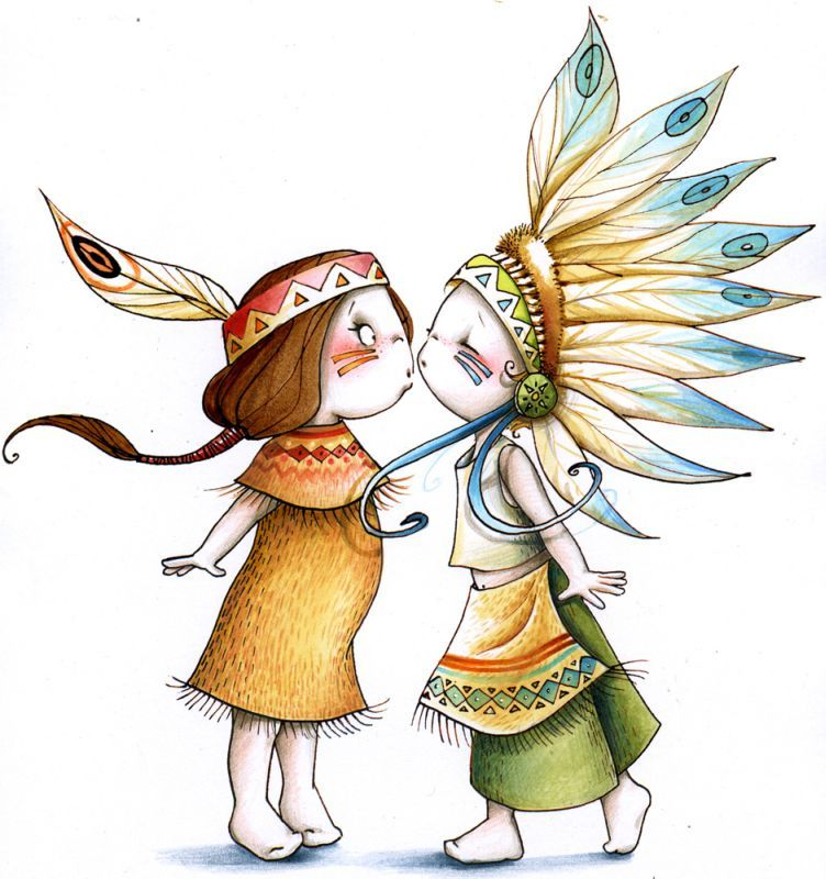 Sticker Playground couples indiens 103x110 - Acte deco   Decor ...
