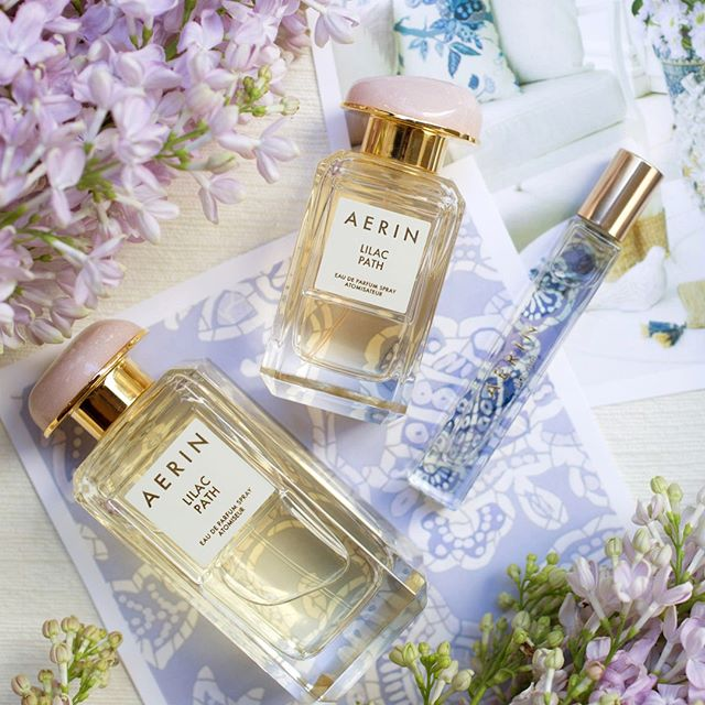 Greet summer with the scent of @AERIN's Lilac Path. Let this ...