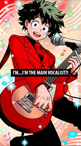 Guitarra De Lolo Unoutan Color Division Bnha Smash Victory Pose Poses Anime
