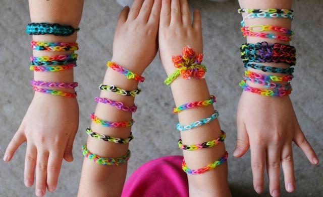 Armbander Selber Machen Ideen Flechten Kinder Rainbow Loom Armbander Basteln Armband Kinder