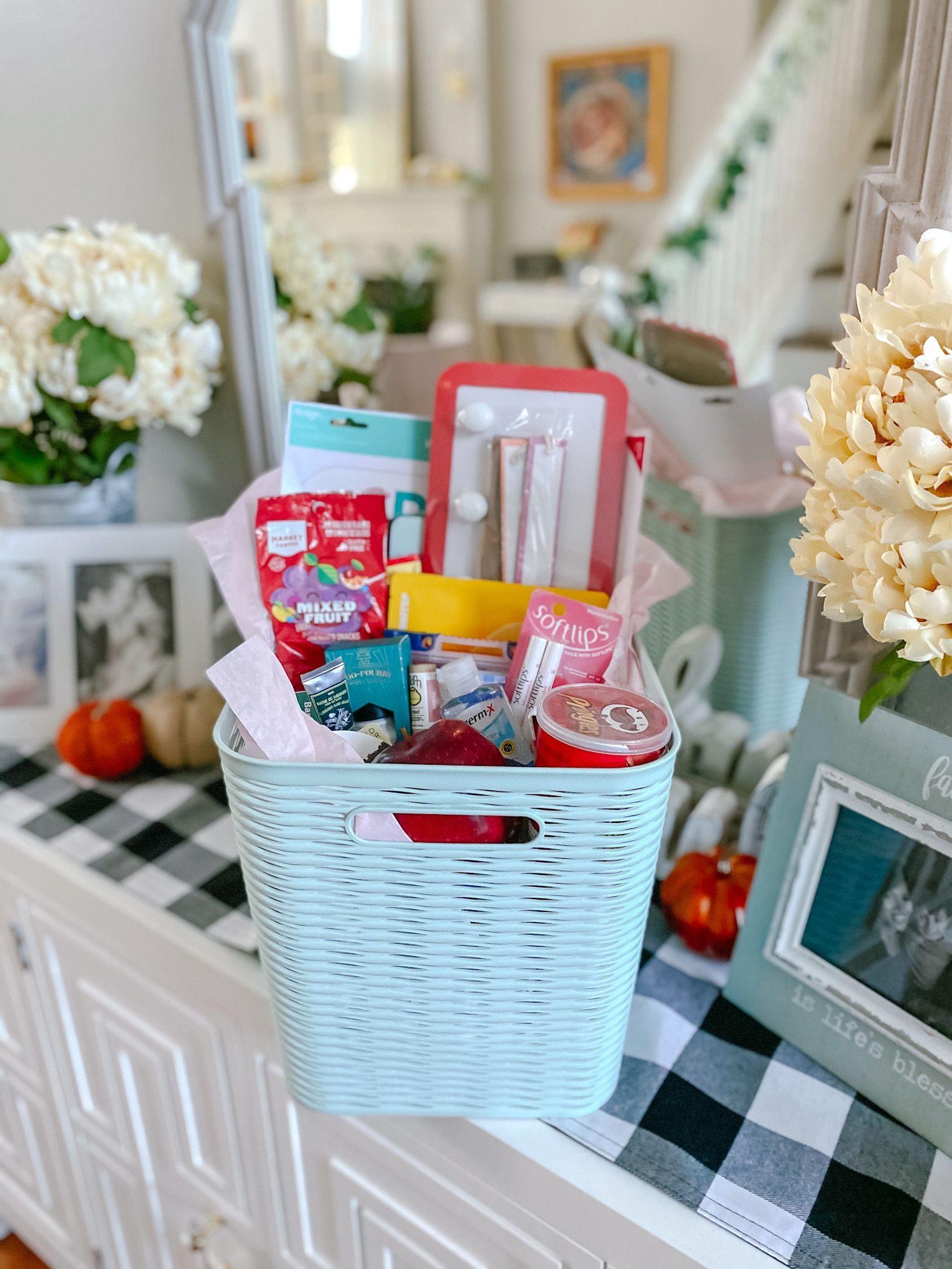 Back to school teacher gift basket diy dawn p darnell