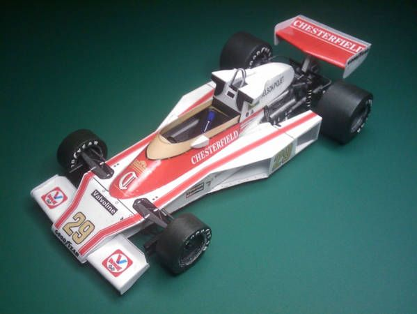 F1 Paper Model - 1978 Austrian GP McLaren M23 Paper Car Free Template Download - http://www.papercraftsquare.com/f1-paper-model-1978-austrian-gp-mclaren-m23-paper-car-free-template-download.html#124, #Car, #F1, #F1PaperModel, #FormulaOne, #M23, #McLaren, #McLarenM23, #PaperCar