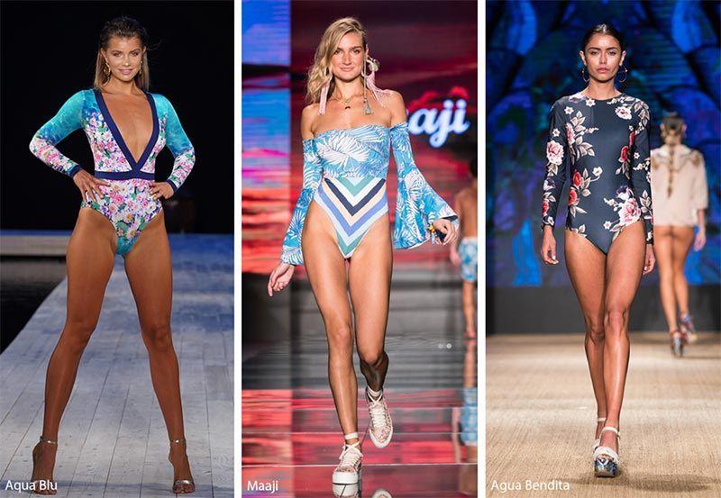 e7ce4dddce Spring  Summer 2019 Swimwear Trends  Long-Sleeve Swimsuits   Bikinis
