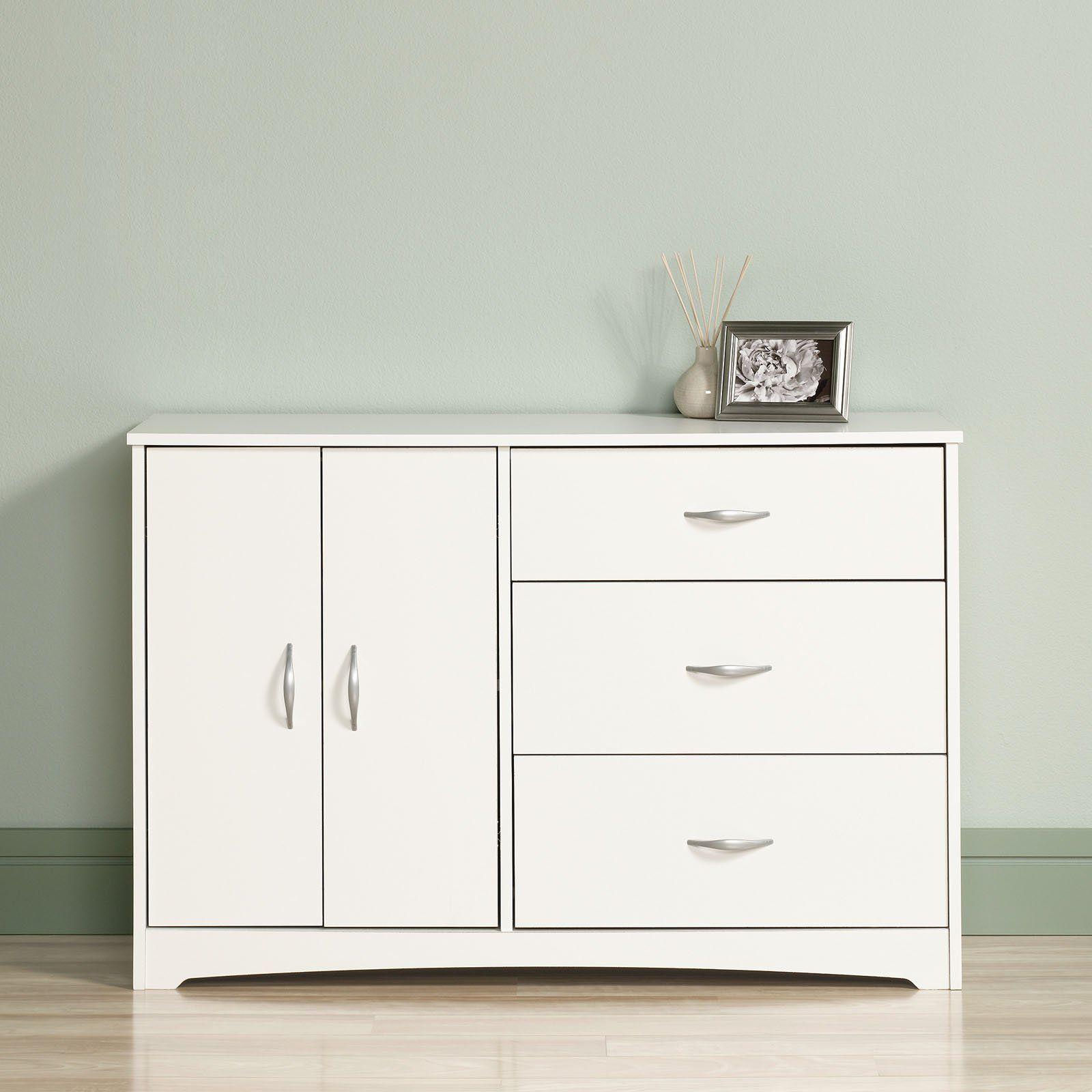 Sauder Beginnings 3 Drawer Dresser 413123 3 drawer