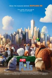 THE SECRET LIFE OF PETS This was sn adorable film. I loved
