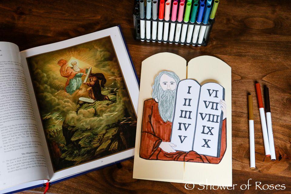 38+ Ten commandments crafts free ideas in 2021