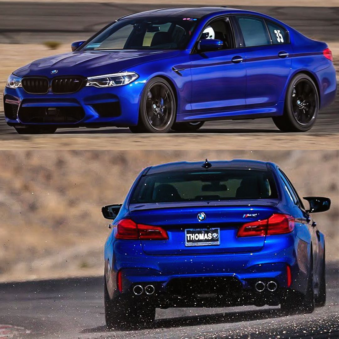 Bmw M5 Sport: Not For The Faint-hearted. 2018 Marina Bay Blue BMW F90 M5