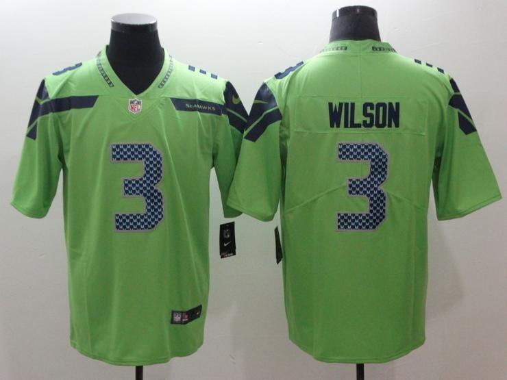 Men 03 Russell Wilson Jersey Football Seattle Seahawks Jersey ... 82305e504