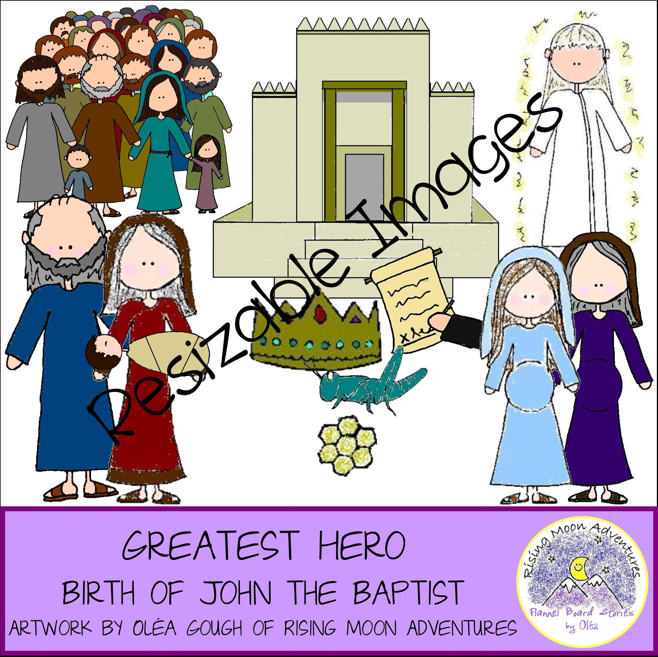 Birth Of John The Baptist Bible Resizable Images Download