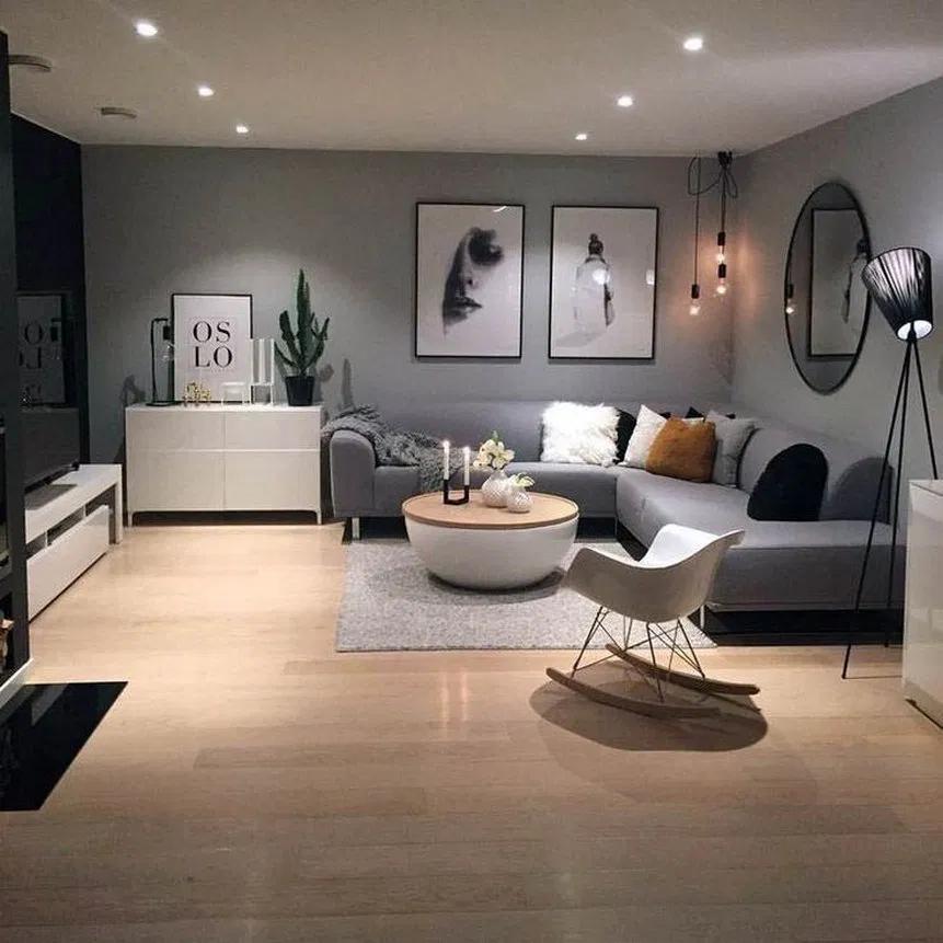 26 Cozy Modern Minimalist Living Room Designs 1 Minimalistlivingroom Livingro In 2020 Contemporary Living Room Design Living Room Decor Apartment Elegant Living Room