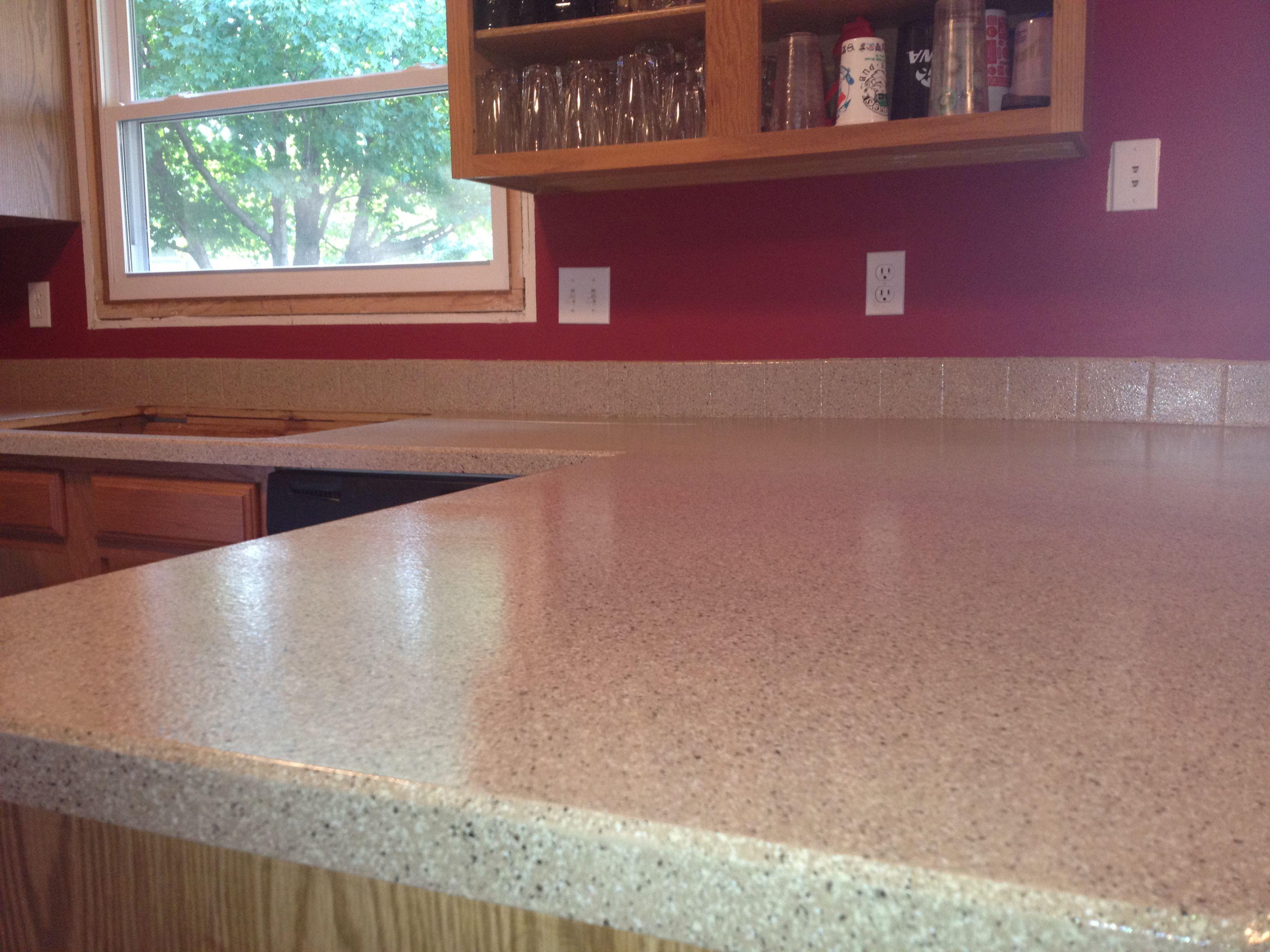 DIY Kitchen Countertop