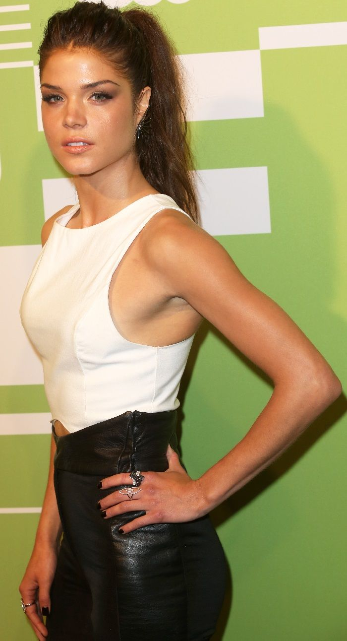 Marie Avgeropoulos at the CW Network Upfront Presentation