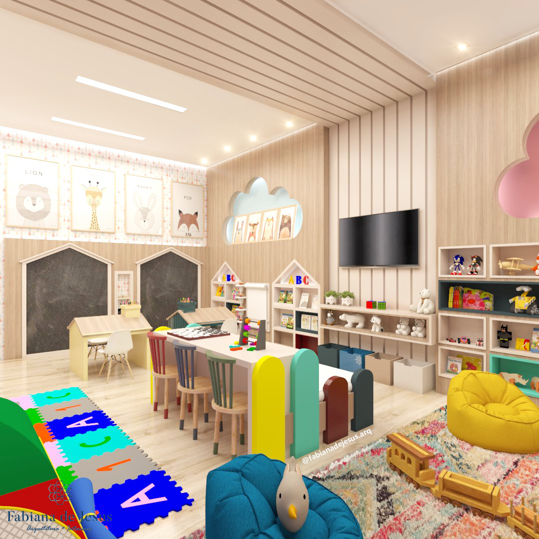 Home Daycare Design Ideas: Creative Kids Rooms, Daycare