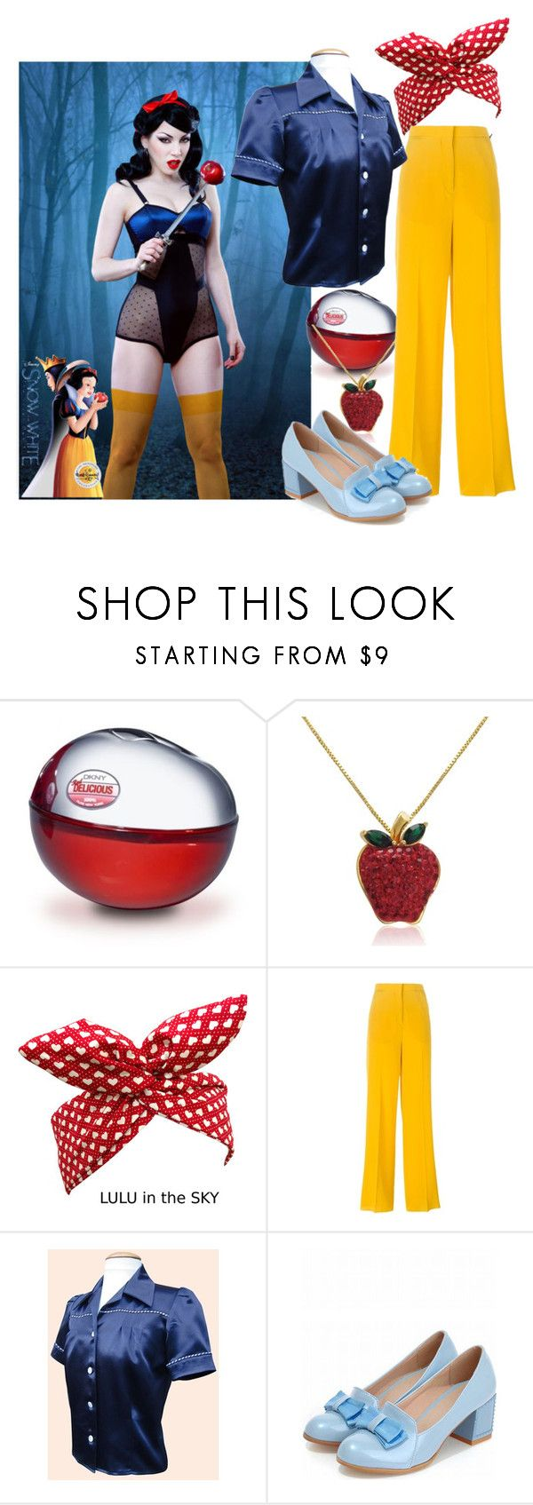 """Sno' Wat?"" by serinde ❤ liked on Polyvore featuring DKNY, Amanda Rose Collection, Rochas, women's clothing, women's fashion, women, female, woman, misses and juniors"