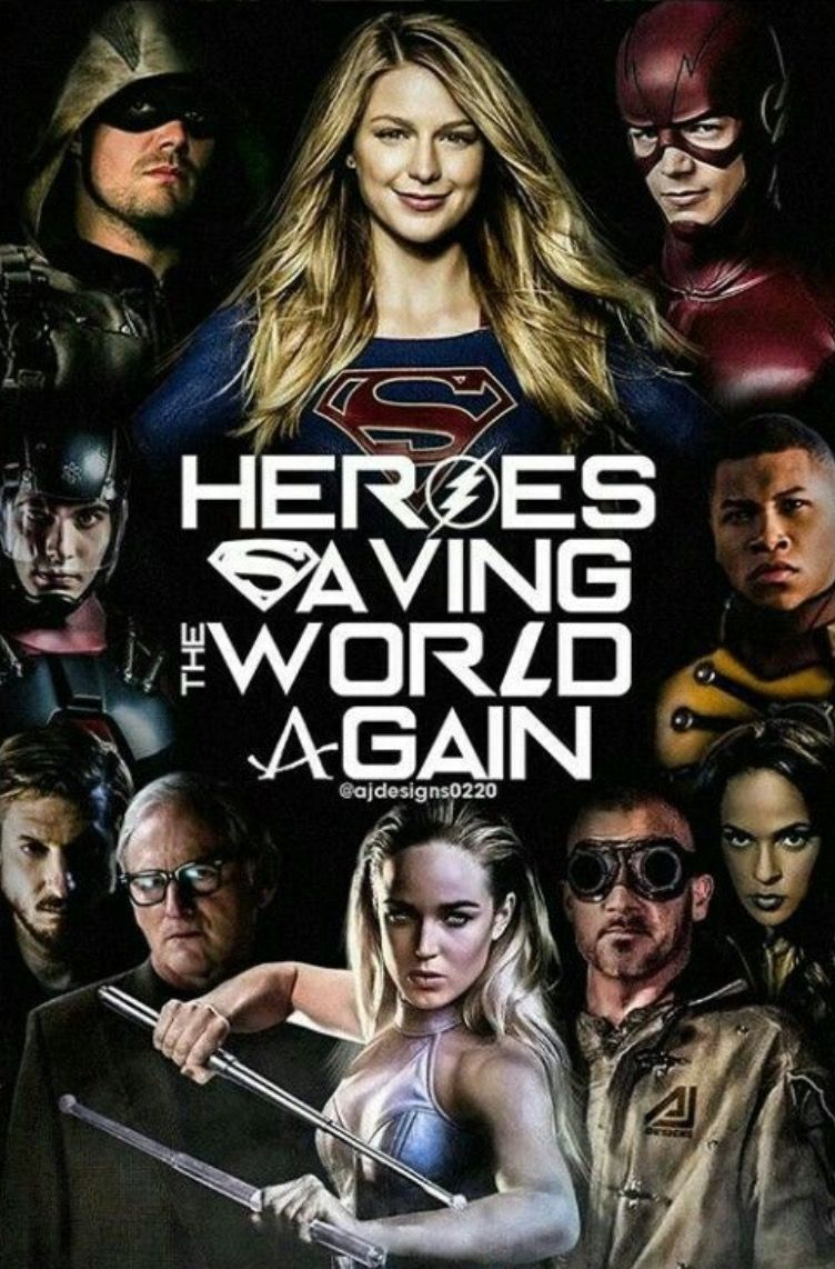 Dc Tv Show Yearly Crossover Event Crisis On Earth X Supergirl