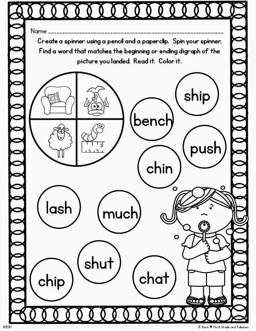 worksheet Sh Worksheets For 1st Grade game sh ch first grade and fabulous pinterest worksheets oakwoodworksheetstracklanguage