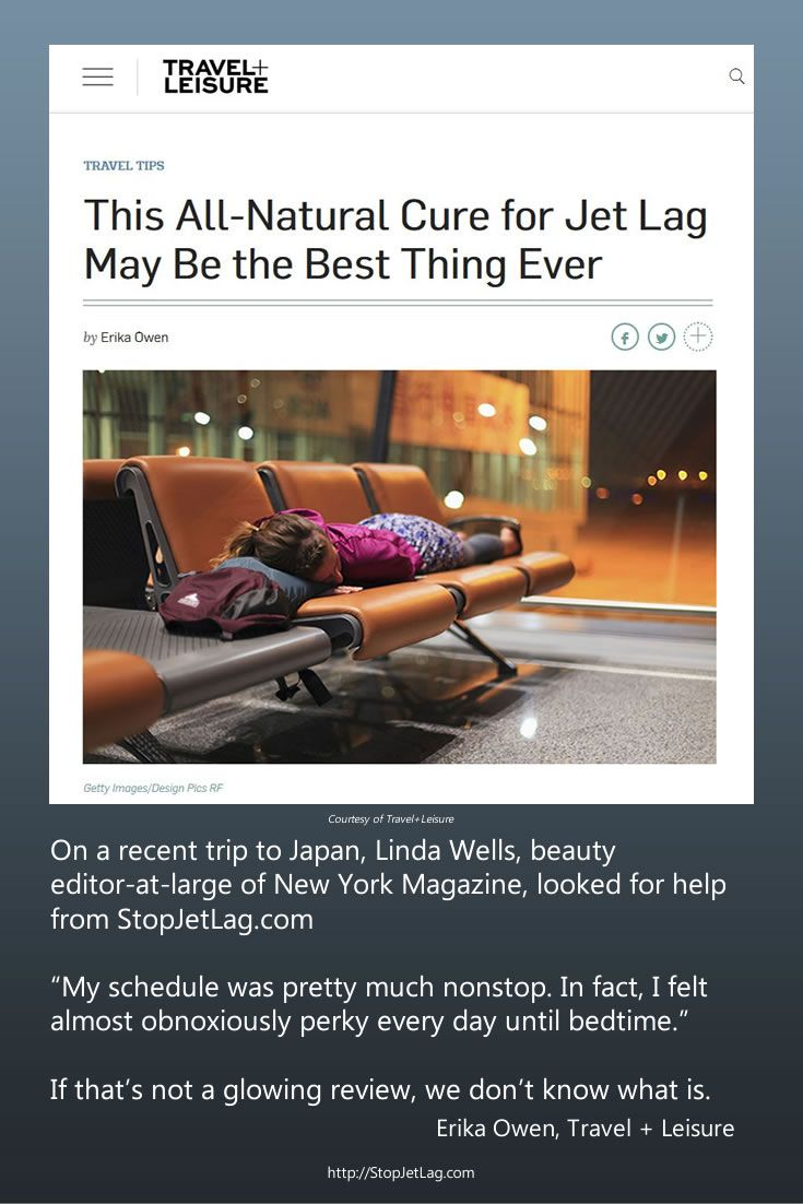 """Travel+Leisure agrees with Linda Wells about her Stop Jet Lag Japan trip experience. """"If that's not a glowing review, we don't know what is."""""""