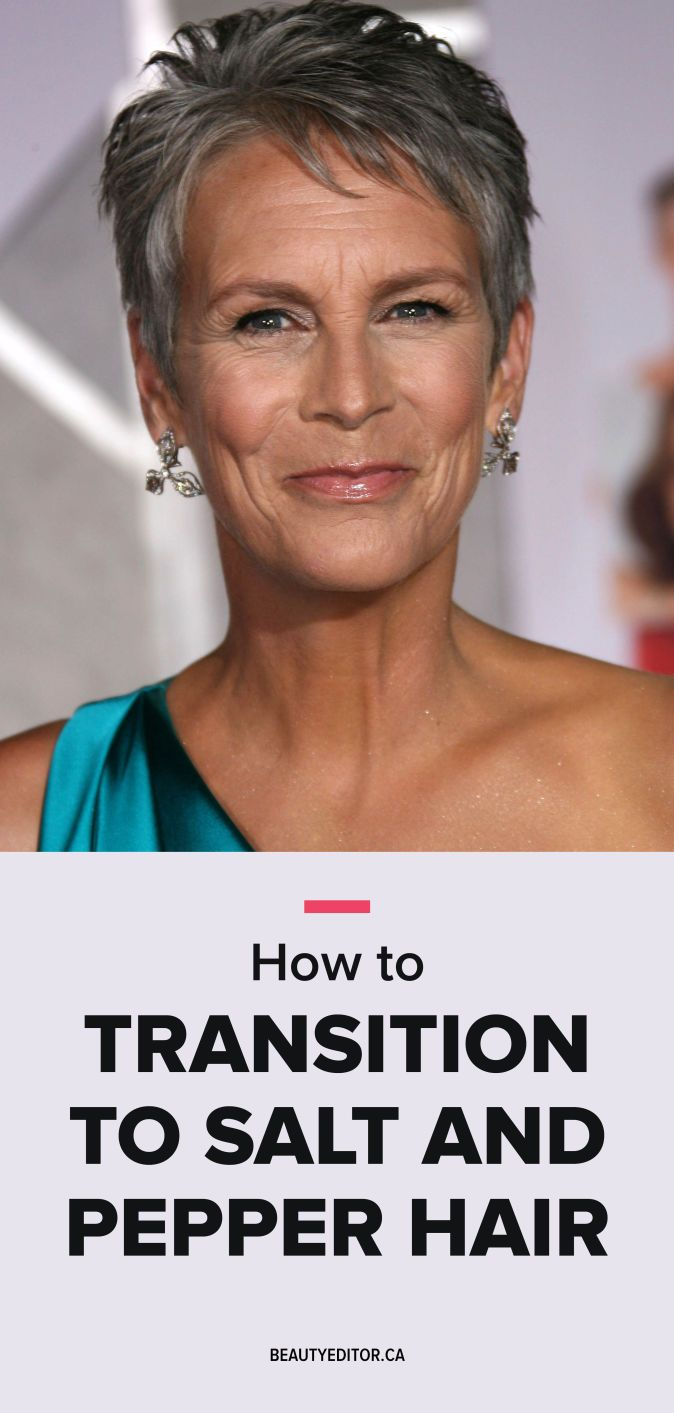How to Transition to Salt and Pepper Hair  Beautyeditor  Fine hair