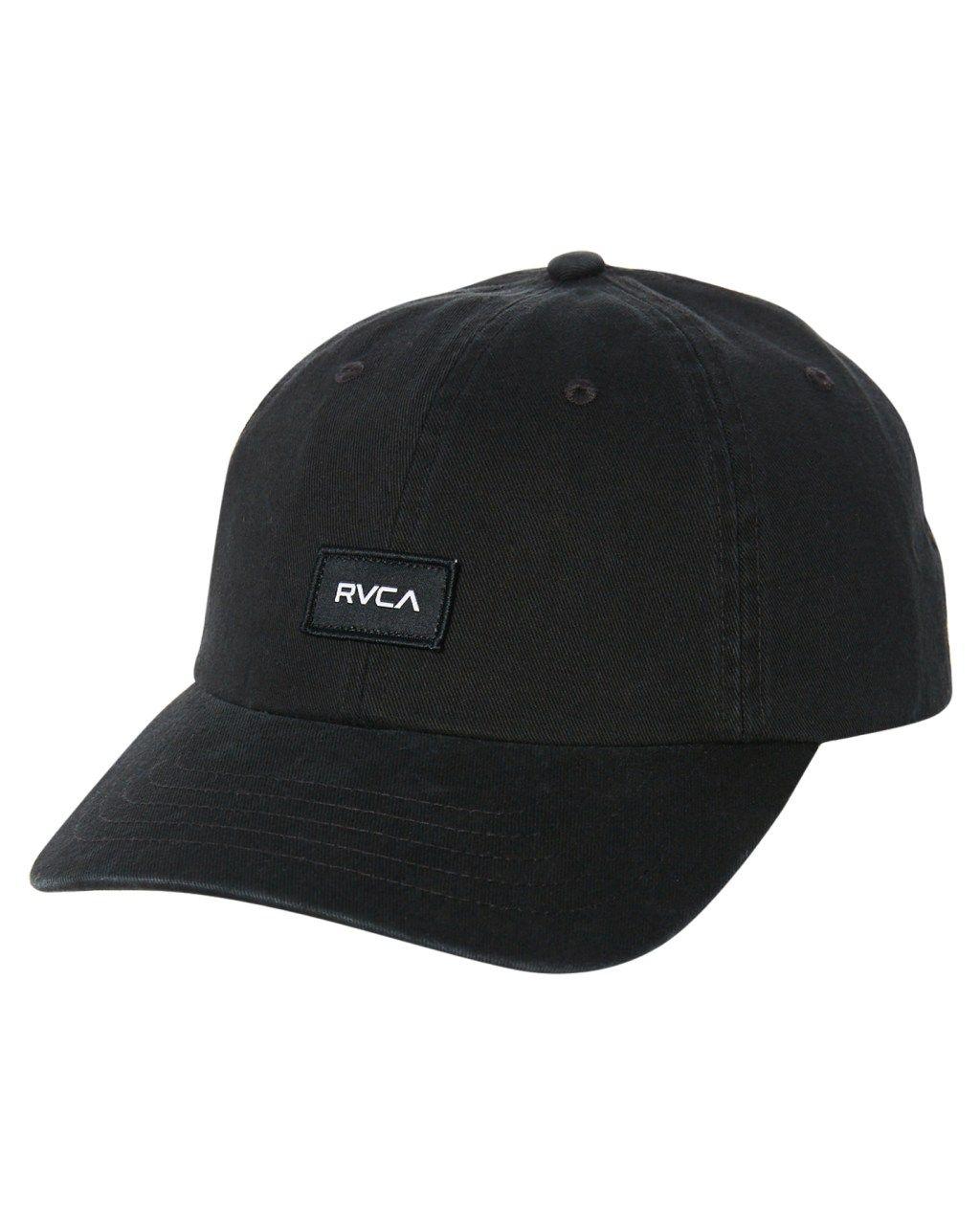 7f082b91022 Rvca The Rvca Focus Strapback Cap Black Mens Accessories Other Size ...
