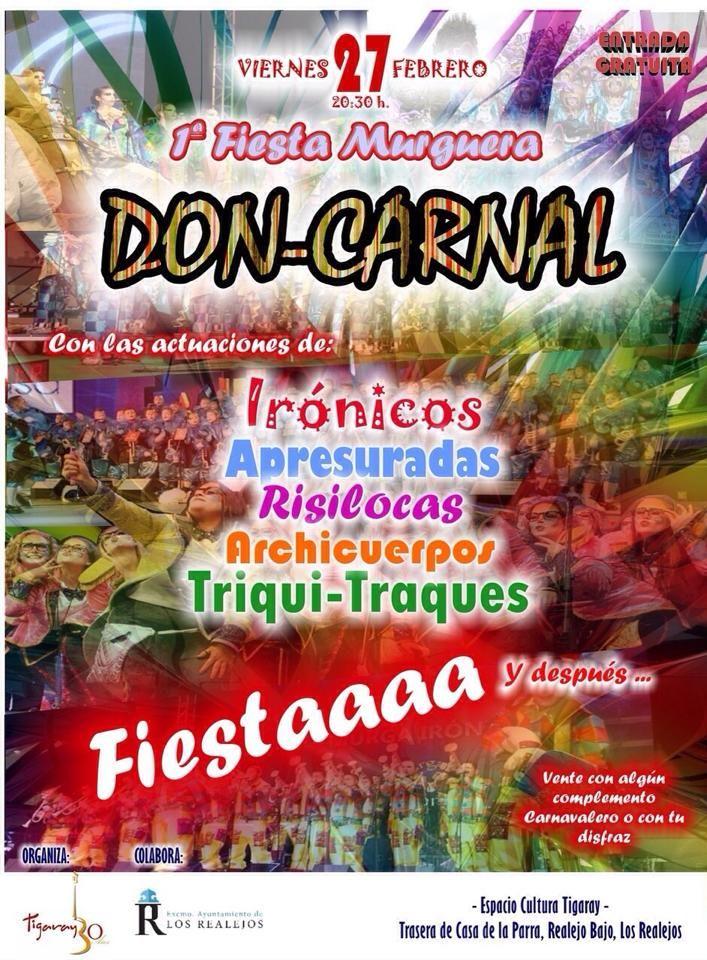 Grupo Mascarada Carnaval: I Fiesta murguera Don-Carnal