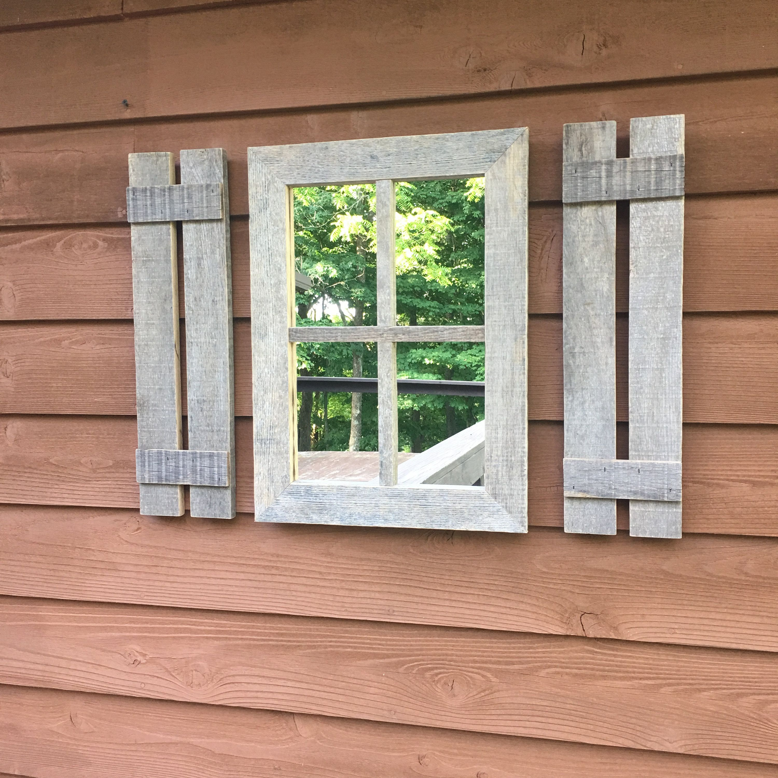Rustic Primitive Wood Window Frame Farmhouse Wall Decor Primitive Star Large Wall Decor With Star And Pip Garland Rustic Shutters Farmhouse Shutters Shutter Wall Decor