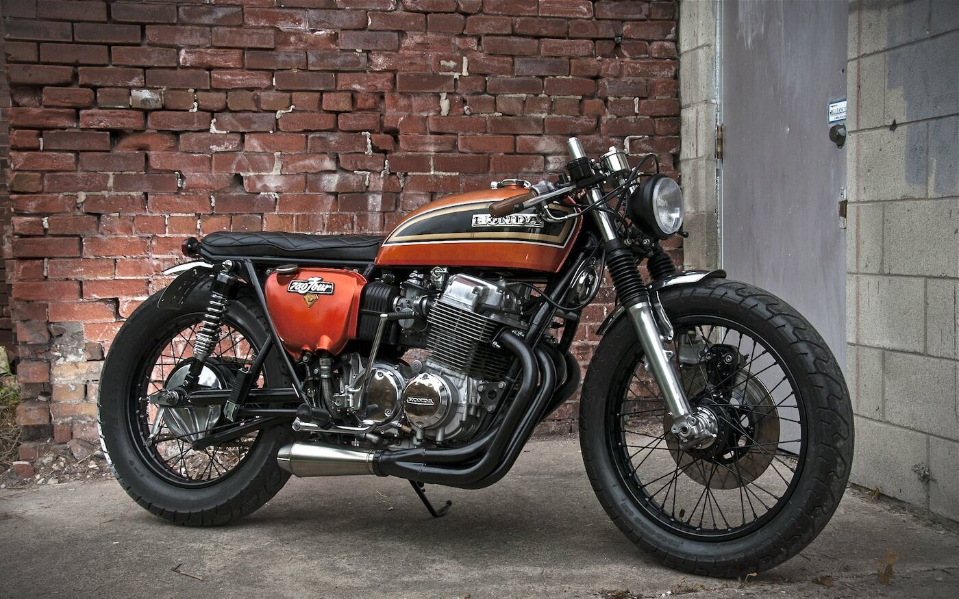 Perfect CB750 Cafe Racer 3