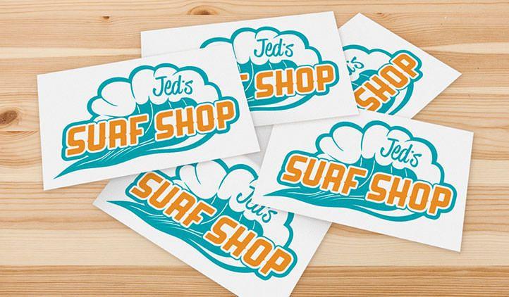 Custom logo stickers vinyl stickers stickeryou products