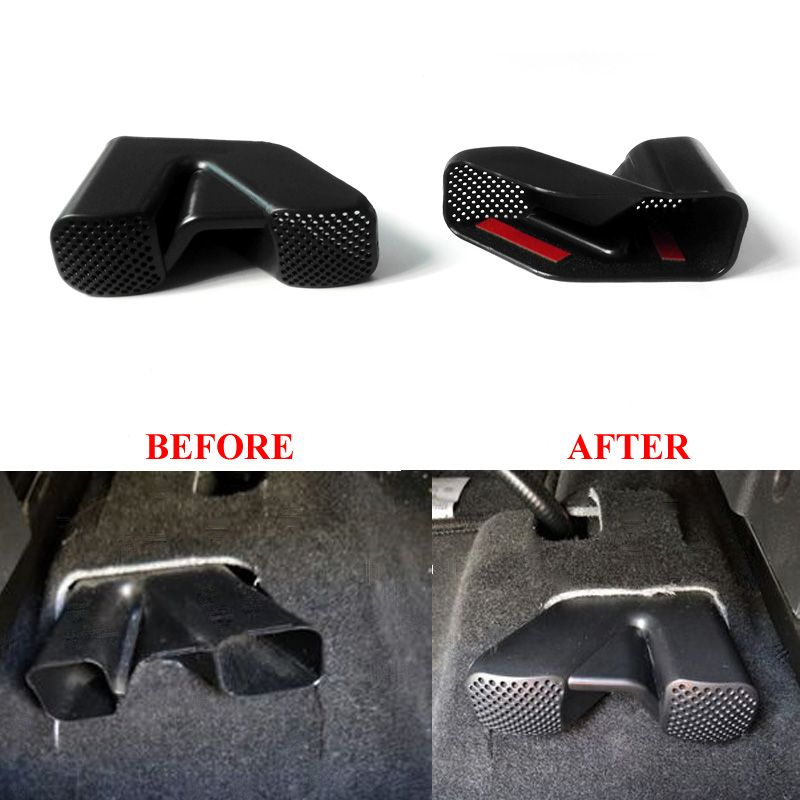 Under Seat Air Conditioner Air Outlet Vent Protective