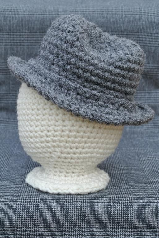 Newborn Fedora Pattern Hats Hats More Hats Pinterest Boy